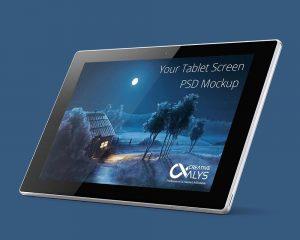 Tablet-PSD-Mockup